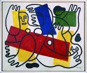 Fernand Léger. Les Plongeurs, 1942.