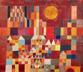 Paul Klee. Burg und Sonne.