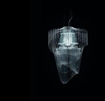 Lámpara transparente.