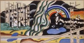 Fernand Lèger. Transport forces, 1937