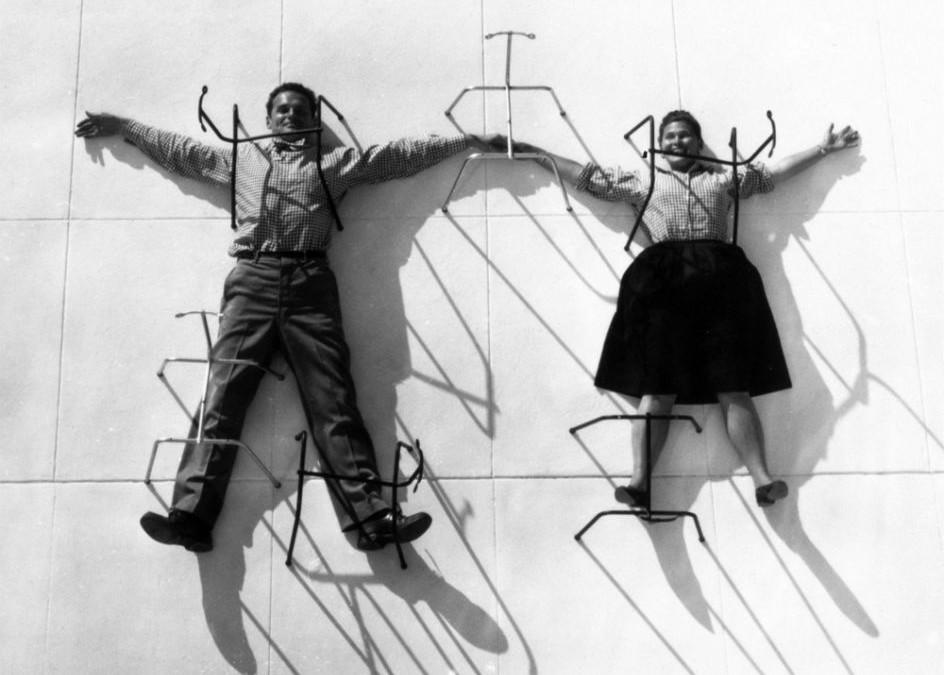 Los Eames: diseño risueño