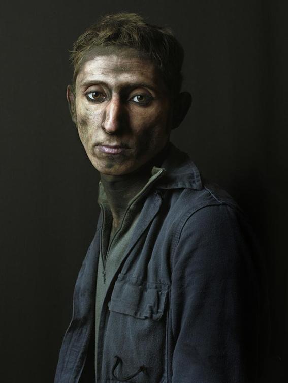 Pierre Gonnord, Armando, Serie Mineros, 2009