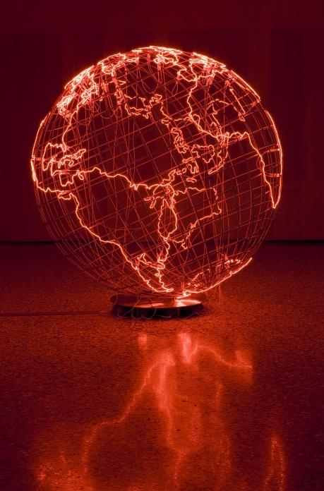 Mona Hatoum. Hot Spot III, 2009.