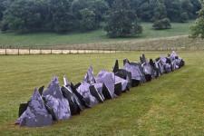 Richard Long. Rain Line. Inglaterra, 2005.