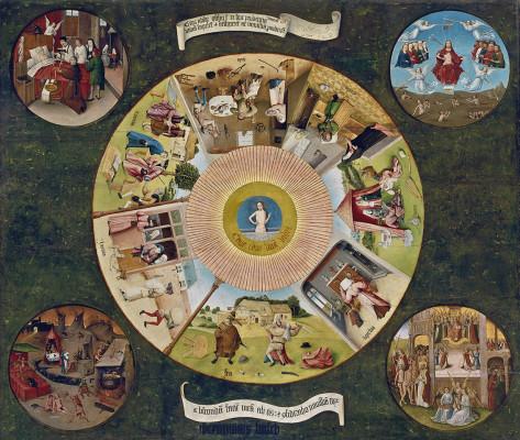 El Bosco, Mesa de los Pecados Capitales, 1505 - 1510