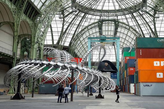 La gran serpiente de París
