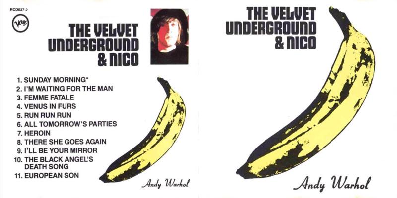 Portada disco de la banda The Velvet Underground.