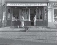 Boucherie Parisienne, Louis Stettner, 1950.