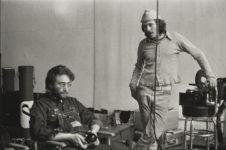John Lennon and Danny Seymour, New York, Danny Lyon, 1969.