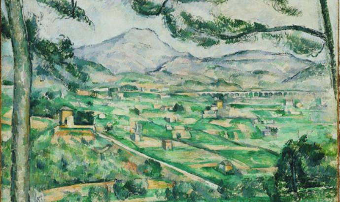 Montaña Sainte-Victoire, Paul Cézanne, 1887