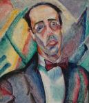 Retrato de Mário de Andrade, Anita Malfatti, 1922