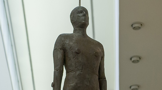 Antony Gormley en la National Portrait