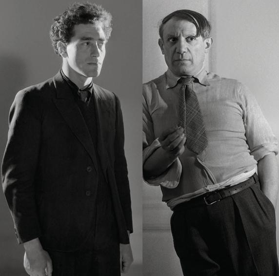 Picasso y Giacometti