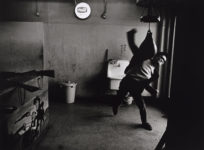 Retrato de Takuma Nakahira, Shinjuku, 1964