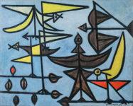 Óscar Domínguez, Birds, 1947