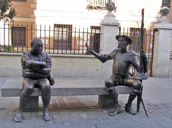 Dibuja Cervantes
