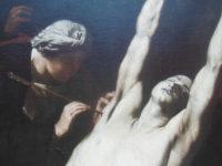 Ribera, detalle del Martirio de San Sebastián