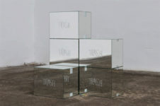 Stegan Brüggemann, Trash mirror boxes, 2016