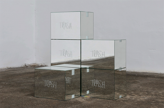 Trash Mirror Boxes