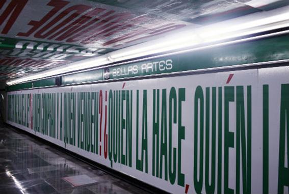Calidad artística en el metro de México