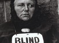 Paul Strand, Mujer Ciega.