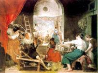 Velázquez, Las hilanderas.