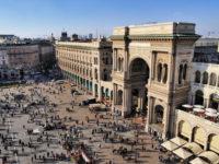 Galeria Emanuelle II, Milán.