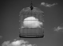 Chema Madoz, Cloud cage