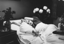 Peter Hujar, Candy Darling on Her Deathbed.