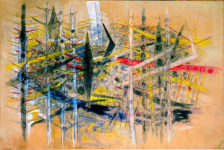 Wifredo Lam, Untitled, 1958. Exposición que acogió en 2016 el Museo Reina Sofía