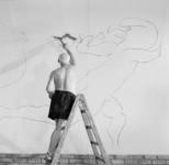 Edwar Quinn, Picasso trabajando.