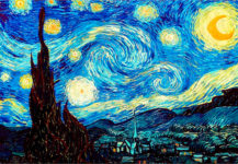 Vincent van Gogh, La noche estrellada, 1889