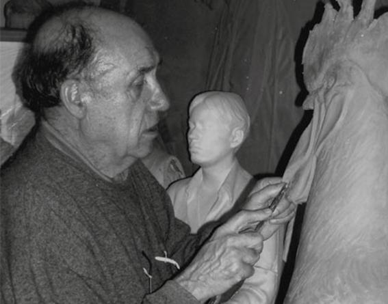 Fallece el escultor Francisco López