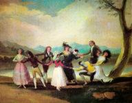 Francisco de Goya, La gallina ciega