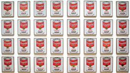 Andy Warhol, Sopa Campbell.