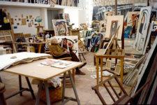 Francesc Catalá Roca, Estudio de Joan Miró en Mallorca, 1977