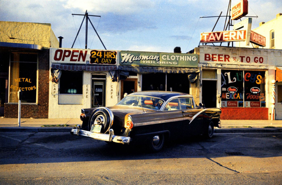 El viaje de William Eggleston