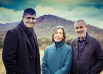 Rafael Aranda, Carme Pigem y Ramon Vilalta. Foto de Javier Lorenzo Domínguez..