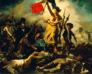 Eugène Delacroix, La libertad guiando al pueblo, 1830