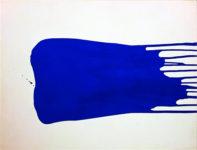 Yves Klein, Monocromo azul sín título (IKB 27), 1957