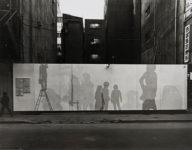 Jirō Takamatsu, Shadows on Construction Site Walls, 1971