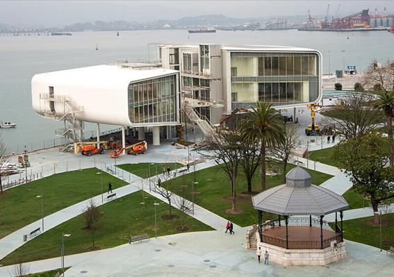Inaugura el nuevo Centro Botín