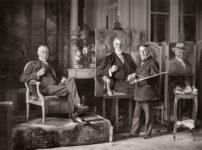 Joaquí Sorolla pintando el retrato de Thomas Fortune Ryan en París