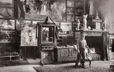 Sorolla-en-su-estudio.-Ricardo-de-Rivero.-1911