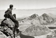 Juan Rulfo, Autorretrato de Rulfo en el Nevado de Toluca, 1940