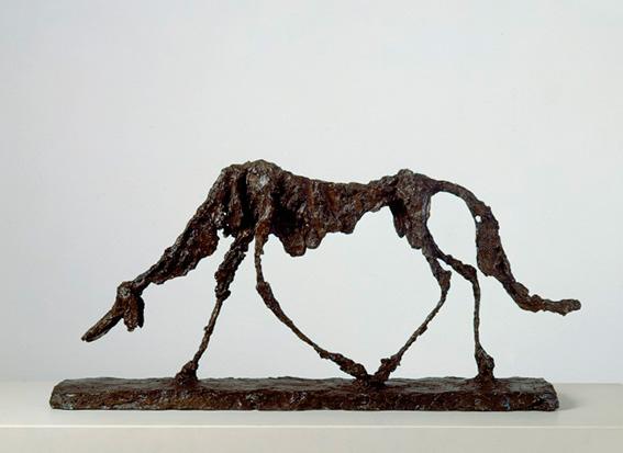 Giacometti en la Tate