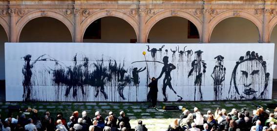 Barceló en Salamanca