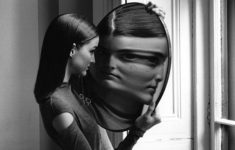 Duane Michals, fragmento de Dr. Heisenberg's Magic Mirror of Uncertainty, 1998