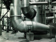 Bernd & Hilla Becher, fragmento de Chemiske Fabrik Wesseling bei Köln, 1992. Cortesía de Centro Andaluz de Fotografía