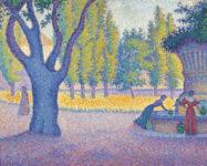 Paul Signac, Saint-Tropez, Fontaine des Lices.